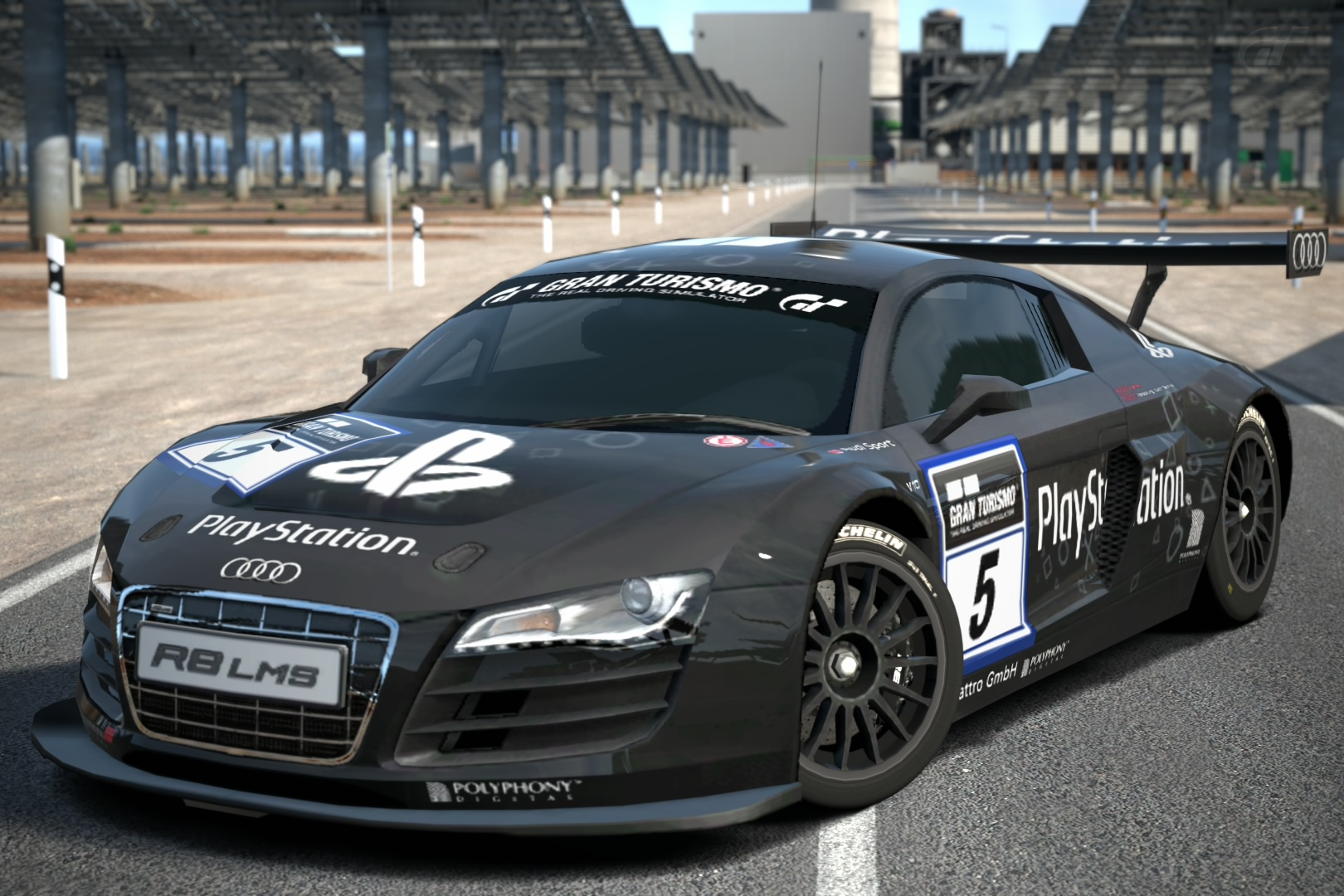 Audi R LMS Race Car Team PlayStation Gran Turismo Wiki - Audi r8 race car 01 gt6