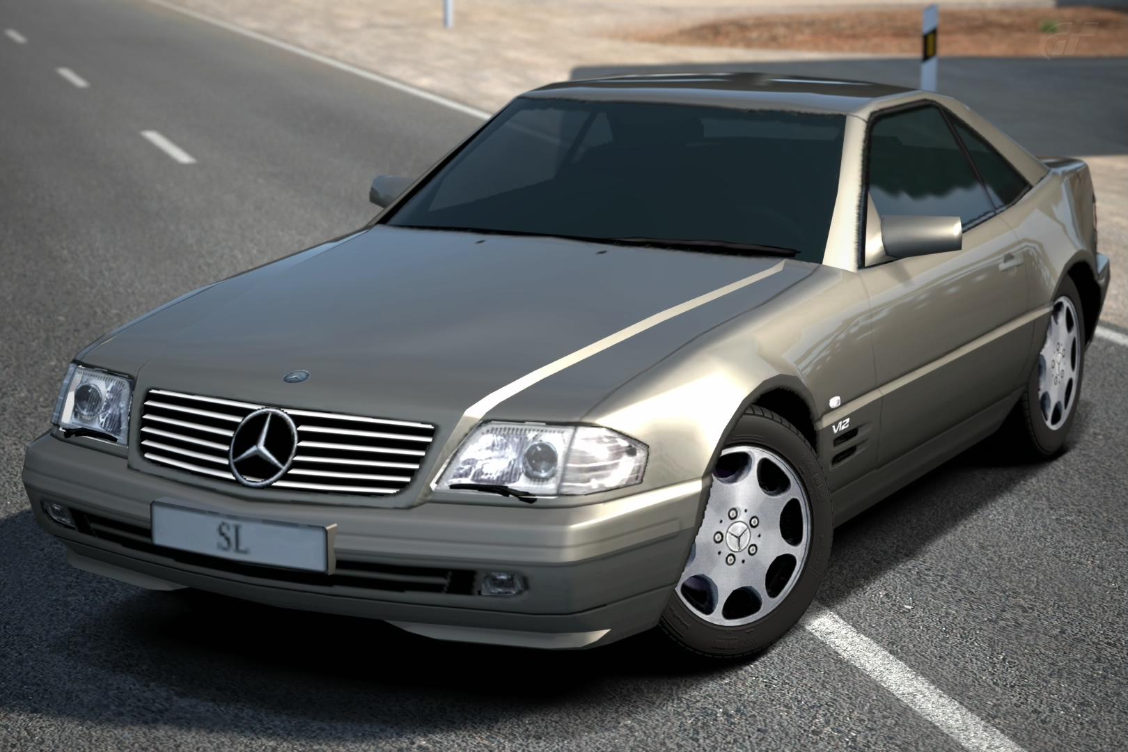 Mercedes-Benz SL 600 (R129) '98 | Gran Turismo Wiki ...