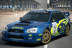 Subaru IMPREZA Rally Car '03