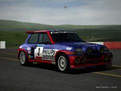5 Maxi Turbo Rally Car '85 Revised