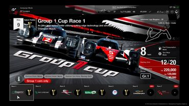 Group 1 Cup
