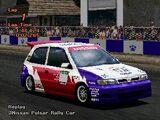 Nissan Pulsar GTi-R Rally Car
