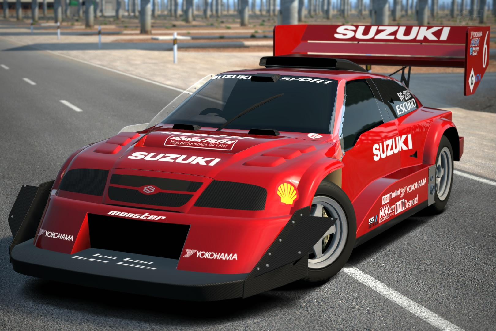 Turismo Car: Suzuki ESCUDO Dirt Trial Car '98