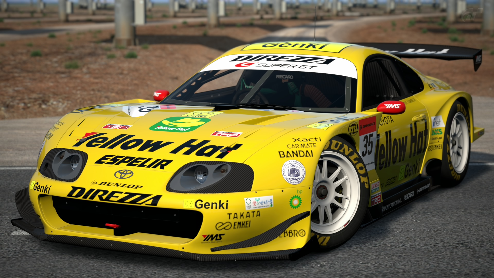 Toyota YellowHat YMS Supra (SUPER GT)  05  c4a3d173a26