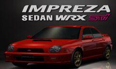 GT3 Impreza Sedan '00 Premium Red