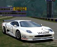 -R-Jaguar XJ220 GT Race Car