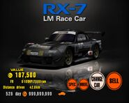Rx7 lm race car