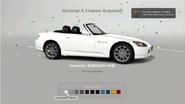 GT6 Prize Car License