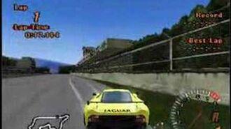 Gran Turismo 2 Arcade Mode weird replay