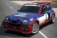 Renault Sport R5 Turbo Rallye '85