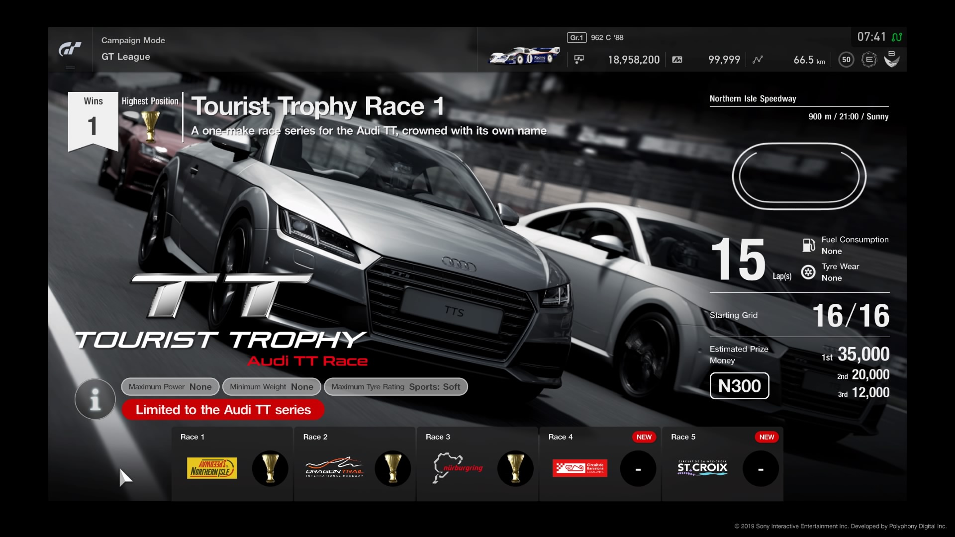 Gran TurismoRSPORT Tourist Trophy