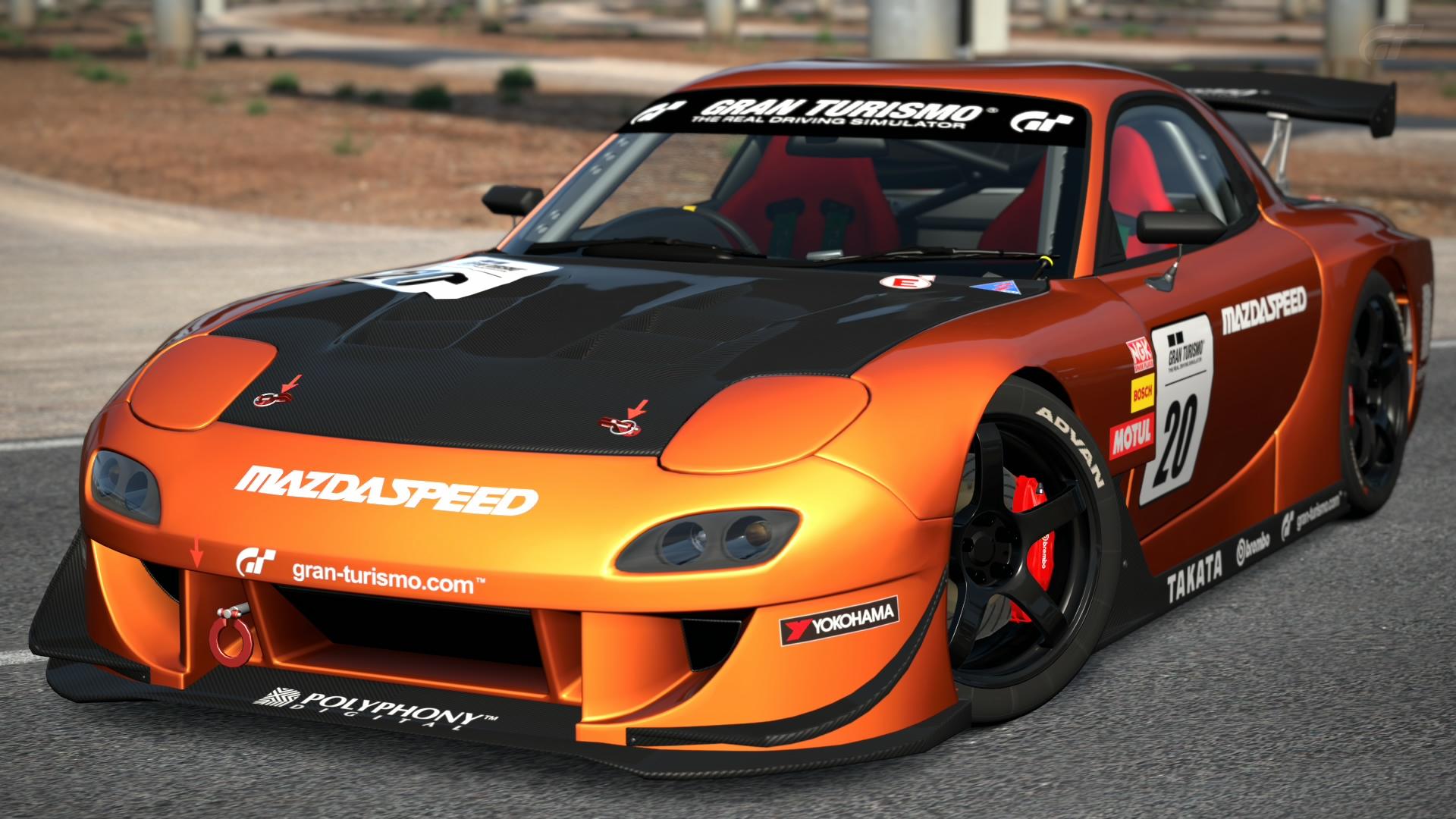 Mazda Rx 7 Touring Car Gran Turismo Wiki Fandom Powered By Wikia