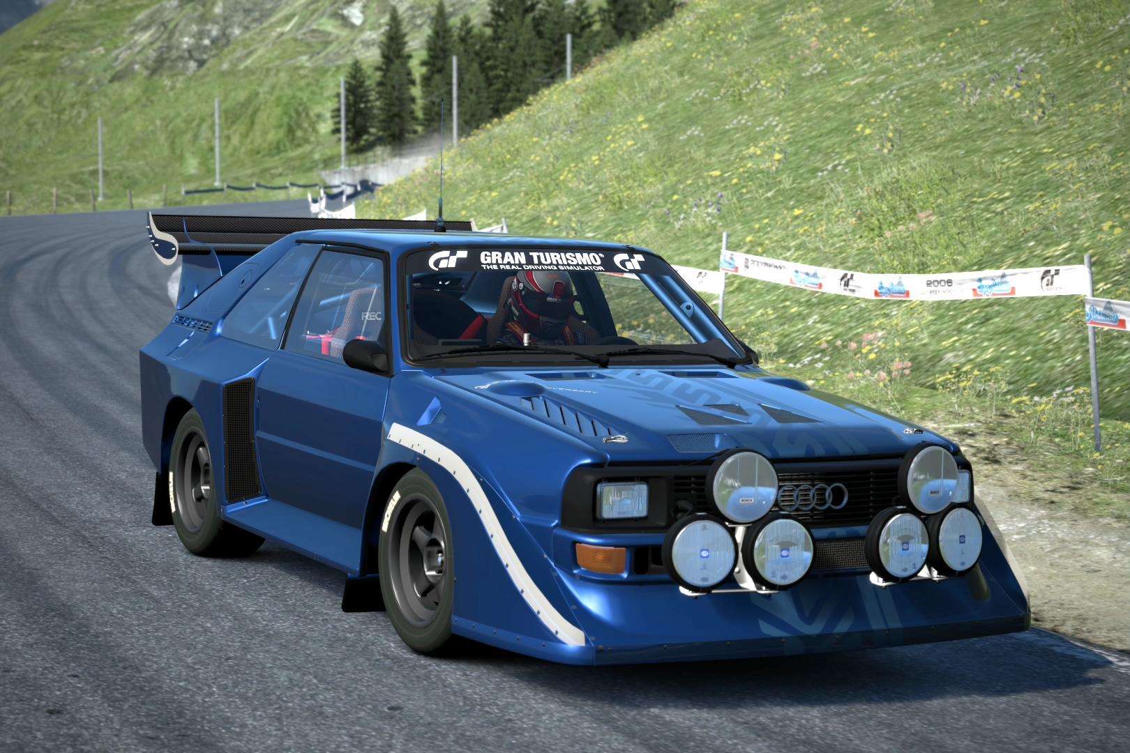 image audi sport quattro s1 rally car 15th anniversary. Black Bedroom Furniture Sets. Home Design Ideas