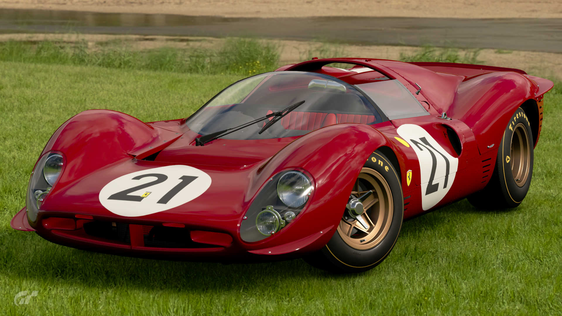 ferrari 330 p4 race car 39 67 gran turismo wiki fandom. Black Bedroom Furniture Sets. Home Design Ideas