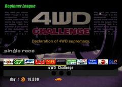 4WD Challenge (Beginner)