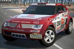 Mitsubishi PAJERO Evolution Rally Raid Car '03