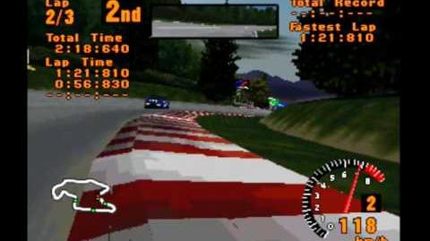 Gran Turismo 1 088 - GT LEAGUE GT World Cup - Race 2x6 Trial Mountain
