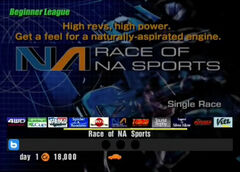 Race of NA Sports (Beginner)