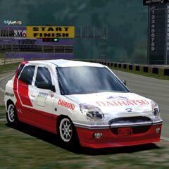 Daihatsu Storia X4 Rally Car
