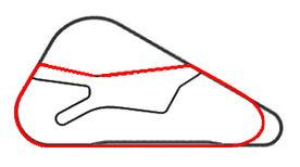 Blue Moon Bay Speedway - Infield B Overlay