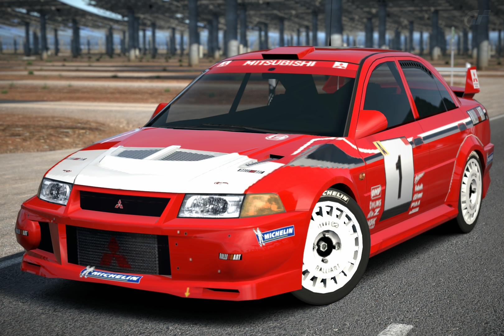 Mitsubishi Lancer Evolution Vi Rally Car 99 Gran Turismo Wiki