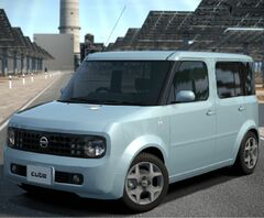 Nissan CUBE EX (FFCVT) '02