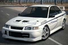 Mine's LANCER EVOLUTION VI '00
