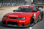 Nissan SKYLINE GT-R R33 Touring Car