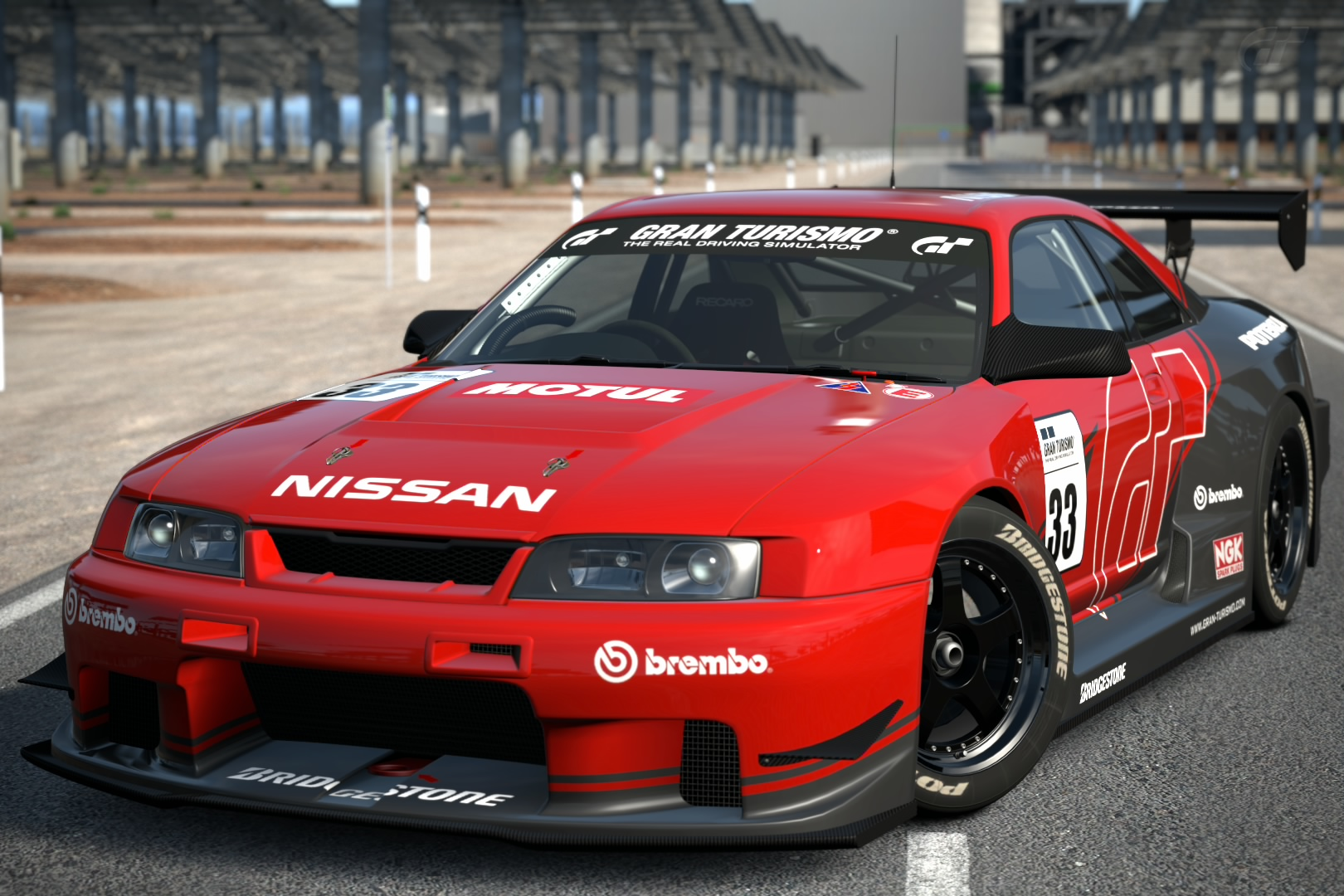 nissan skyline gt r r33 touring car gran turismo wiki fandom