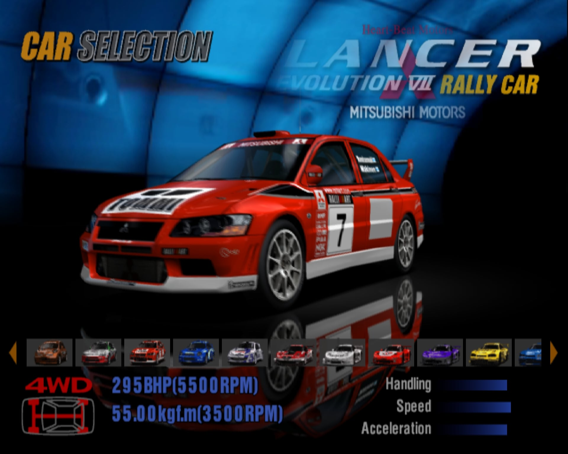 Mitsubishi Lancer Evolution VII Rally Car \'01 | Gran Turismo Wiki ...