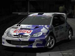 Peugeot 206 Rally Car '99