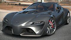 Toyota FT-1 graphite
