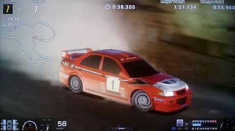 Gran Turismo 6 Mitsubishi Lancer Evolution VI Rally Car '99 vuelta rápida en La Toscana