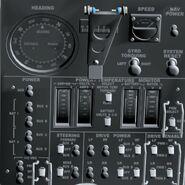 Lunar Rover Control Panel