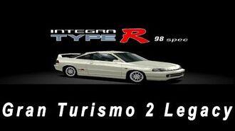 Gran Turismo 2 Legacy - Day 89 200 Honda Integra Type R 98 Spec