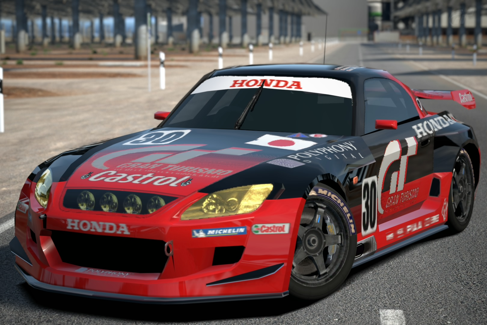 honda s2000 lm race car gran turismo wiki fandom powered by wikia. Black Bedroom Furniture Sets. Home Design Ideas