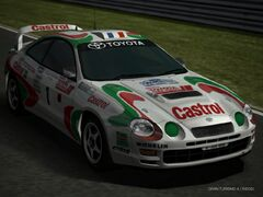 CELICA GT-FOUR Rally Car (ST205) '95 Revised