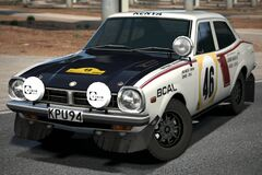 Mitsubishi Lancer 1600 GSR Rally Car '74