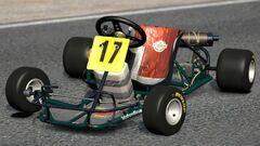 Ayrton Senna DAP Racing Kart -17 '80