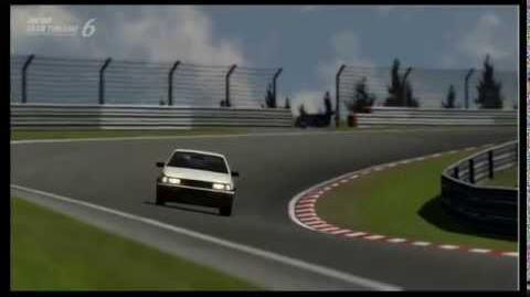 Gran Turismo 6 - Nürburgring Nordschleife - Toyota COROLLA LEVIN GT-APEX (AE86) '83 -8.07