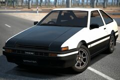 Toyota SPRINTER TRUENO GT-APEX (AE86 Shuichi Shigeno Version) '00 (GT6)