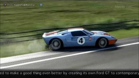 Ford Ford GT LM Race Car