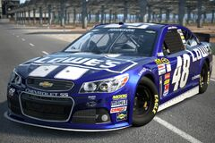 2013 Jimmie Johnson -48 Lowe's CHEVROLET SS