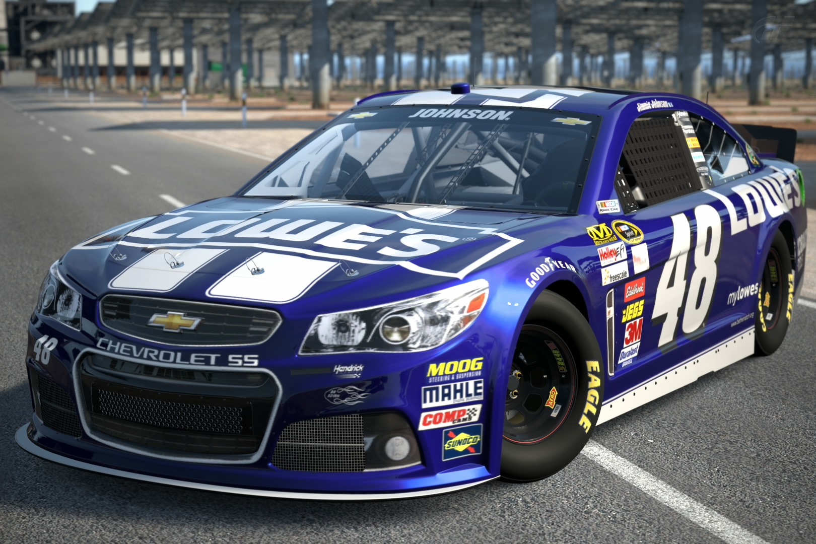 2013 Jimmie Johnson 48 Lowe S Chevrolet Ss Gran Turismo Wiki