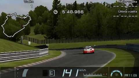 62-1 Gran Turismo PSP Nürburgring Time Trial Replay Denso Sard