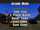 Gran Turismo (PlayStation) Arcade Mode