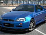 Nissan SKYLINE GT-R V • spec (R34) '99