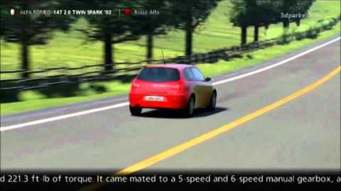 video - alfa romeo 147 2.0 twin spark '02 | gran turismo wiki