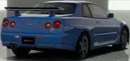 Nissan SKYLINE GT-R V • spec II (R34) '00 (Back)