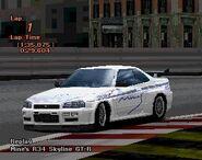 Mine's R34 Skyline GT-R